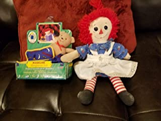 Kingdom Collectibles American Girl Doll Sleep Over Accessories Set W Bear and Rag Doll