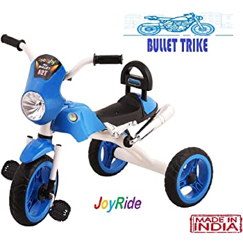 JoyRide Bullet Trike Push Bike Baby Ride On Bike for 2-5 Year Old Boys Girls Kids and Toddlers First Bike Birthday Gift (Blue)