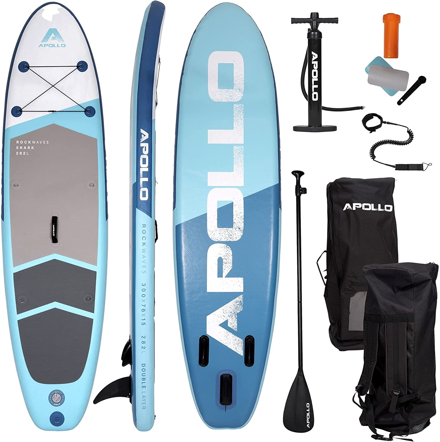 Apollo outlet Inflatable Phoenix Mall Stand Up Paddle Board - Blow SUP Standup up
