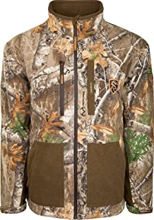 Drake Non-Typical Men's Hydro-Hush Full Zip Waterproof Insulated Scent Control Jacket Polyester