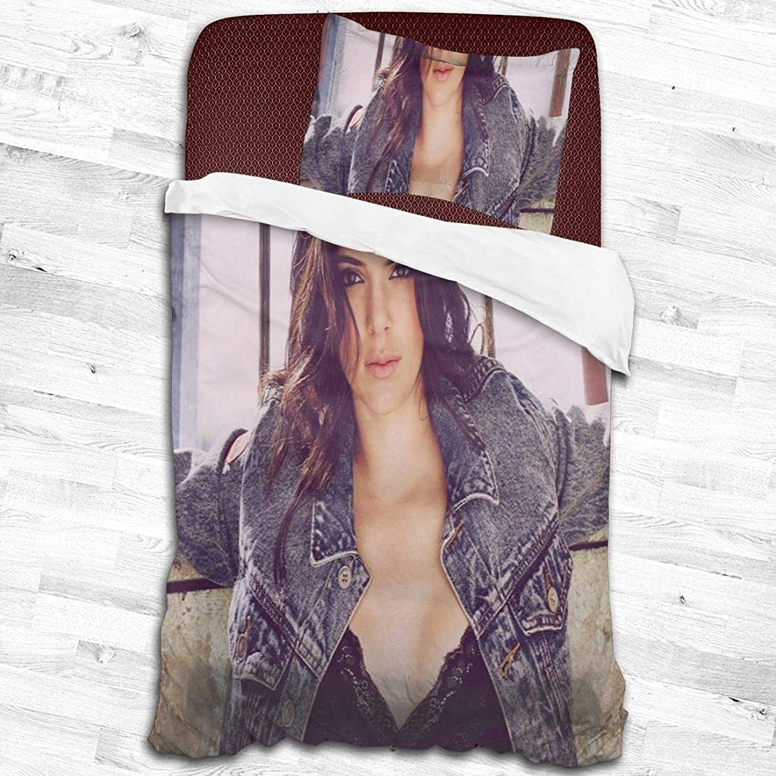 錫始める広く寝具カバーセット、掛け布団カバー 枕カバー モデルKendall Jenner 掛け布団カバー1つ+ 20