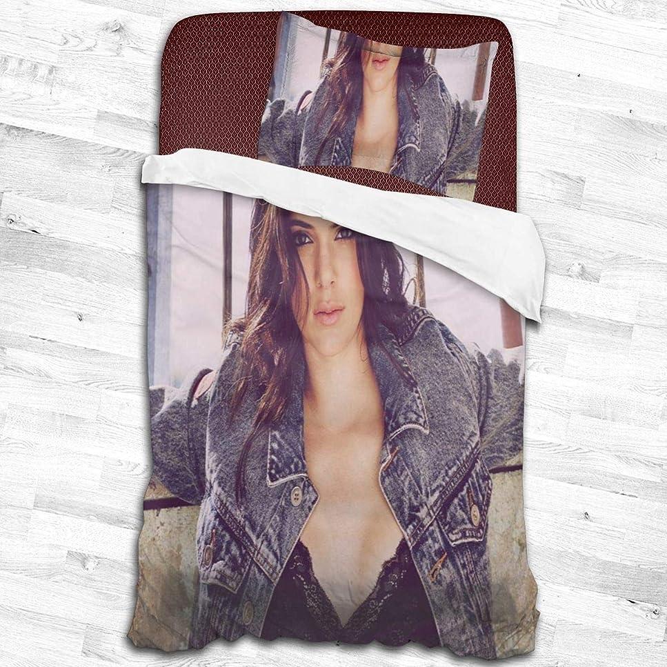 ボルト補足討論寝具カバーセット、掛け布団カバー 枕カバー モデルKendall Jenner 掛け布団カバー1つ+ 20