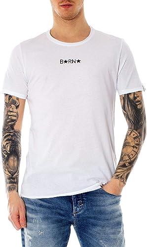 Berna Homme 190083blanc Blanc Coton T-Shirt