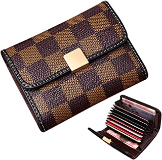 Auner Women's Small Rfid Credit Card Holder Case Wallet Cute Leather Coin Purse