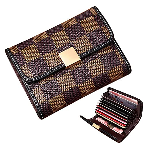 d7729ddfec52 Women's Small Rfid Credit Card Holder Case Wallet Cute Leather Coin Purse