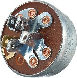 Grasmaaier Ontsteking Starter Met Sleutel, 5 Spade Terminal Motor Startschakelaar Schakelaar Metalen Grasmaaier Ontsteking...