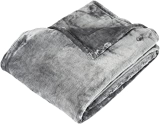 Cozy Fleece THCloudSilver Cuddle Cloud Fleece Throw Blanket, 50 x 60, Silver