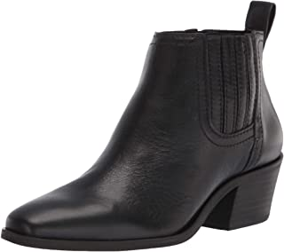 Lucky Brand Women's IDOLA Bootie Ankle Boot, BLACK, 6 M US