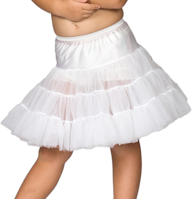 I.C. Collections Big Girls Bouffant Half Slip Petticoat, 7-14