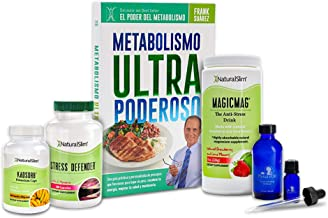 NaturalSlim Anti-Stress Relaxing Kit - Formulated by Award Winning Metabolism & Weight Loss Specialist - Book Comes only i...