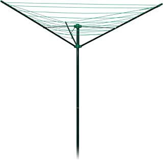Strata Outdoor Rotary Dryer Clothes Line (91', Green)