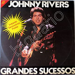Lp Vinyl Record Johnny Rivers Greates Hits Os Grandes Sucessos Made in Brazil