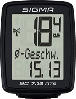 Sigma Sport Ciclocomputador BC 7.16 ATS – Negro