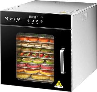 Déshydrateur Alimentaire, MiMiya 10 Plateaux • Desydratateur avec Minuteur (24H), Température Réglable(30 à 90°C), Déshydr...