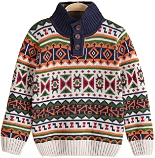 Wofupowga Girl Autumn Pure Color Knitwear Turtleneck Long Sleeve Pullover Sweaters