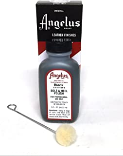 Angelus Sole and Heel Dressing, 3oz, Black