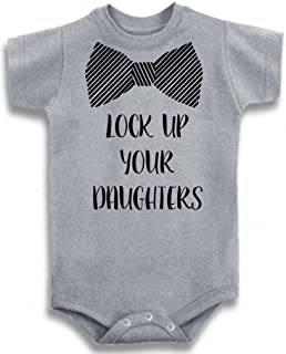 Gray Crew Neck Boys' Lock Up Your Daughters One Piece