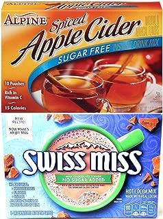 Sugar Free Apple Cider and No Sugar Added Hot Chocolate Bundle