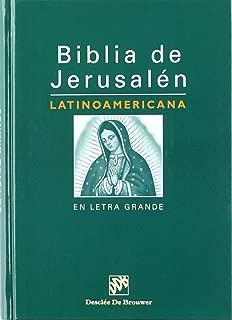 Biblia de Jerusalen: Latinoamericana En Letra Grande (Spanish Edition)