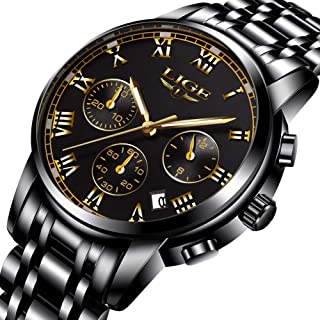 Watch,Men's Fashion Luxury Chronograph Sports Watches,Waterproof Analog Quartz Wrist Watch … … … … … …
