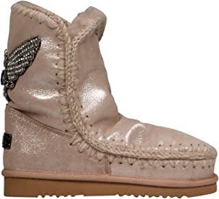 MOU Luxury Fashion Womens FW101006CMCGROBE Pink Ankle Boots   Fall Winter 19