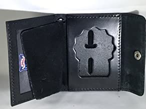 NYPD POLICE DETECTIVE BADGE AND ID SNAP WALLET