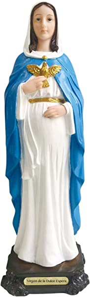 Nuestra Se Ora Virgen De La Dulce Espera Estatua Virgin Senora Dulce Espera Statue Pregnant Lady 8 5 Inch