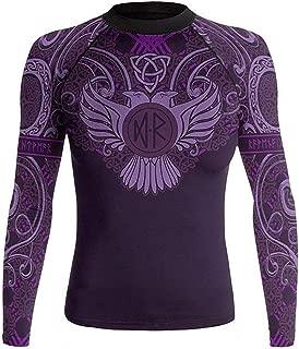 Women's Nordic Rash Guard IBJJF Approved MMA BJJ Purple