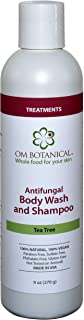 Antifungal Body Wash Organic Tea Tree Oil Soap for Men, Women | All Natural Remedy For Athletes Foot, Body Odor, ToeNail Fungus, Jock Itch, Yeast Infection, Body Acne, Eczema