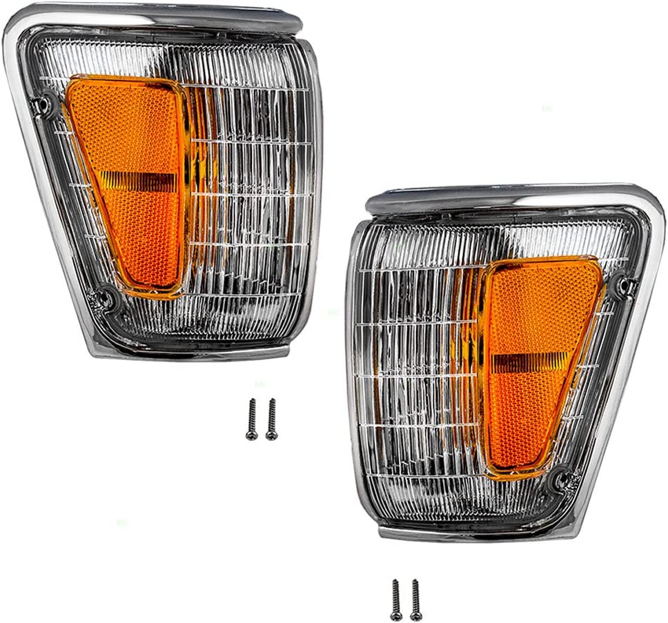 Driver and Passenger Park Brand Cheap Industry No. 1 Sale Venue Clearance Lights Lamps ChromeTrim with