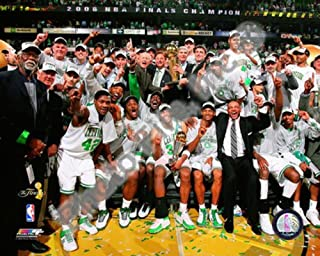 2007-2008 Boston Celtics NBA Finals Champions Celebration; #29 Art Poster PRINT Unknown 10x8