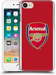 Official Arsenal FC Home 2017/18 Crest Kit Hard Back Case Compatible for iPhone 7 / iPhone 8