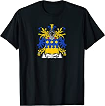 Lombardi Coat of Arms - Family Crest T-Shirt