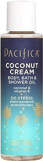 product image for Pacifica Coconut cream body, bath & shower oil, 4 Fl Oz