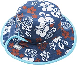 Baby BanZ UV Reversible Bucket Hat, Blue/Brown, 2-5 Years