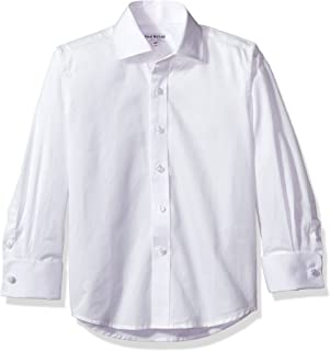 boys french cuff shirt