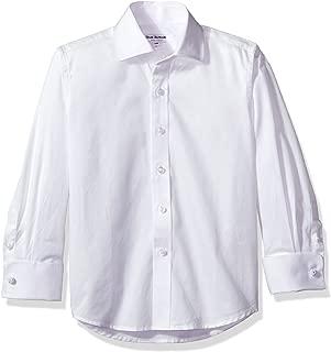 Isaac Mizrahi Boy's French Cuff Cotton Shirt