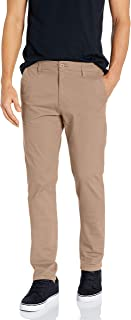 Men's Flex Stretch Basic Long Chino Pants