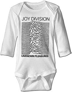Unknown Pleasures Album Joy Division Infant Boys Girls Baby Onesie Bodysuit Long Sleeve