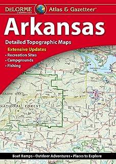 Delorme Arkansas Atlas and Gazetteer