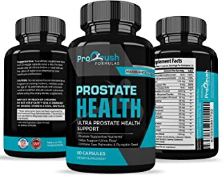 Prostate Support Health Supplement - Maximum Strength - Improves Bladder Discomfort and Urinary Tract Health for Men. Stop...