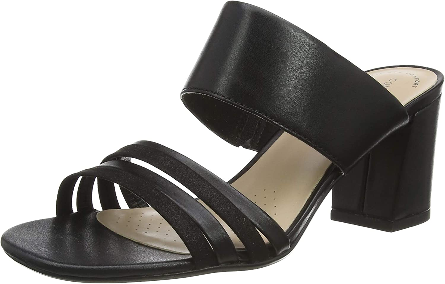 Clarks Women's Max 54% OFF Direct store Strappy Pumps Sandal Heeled
