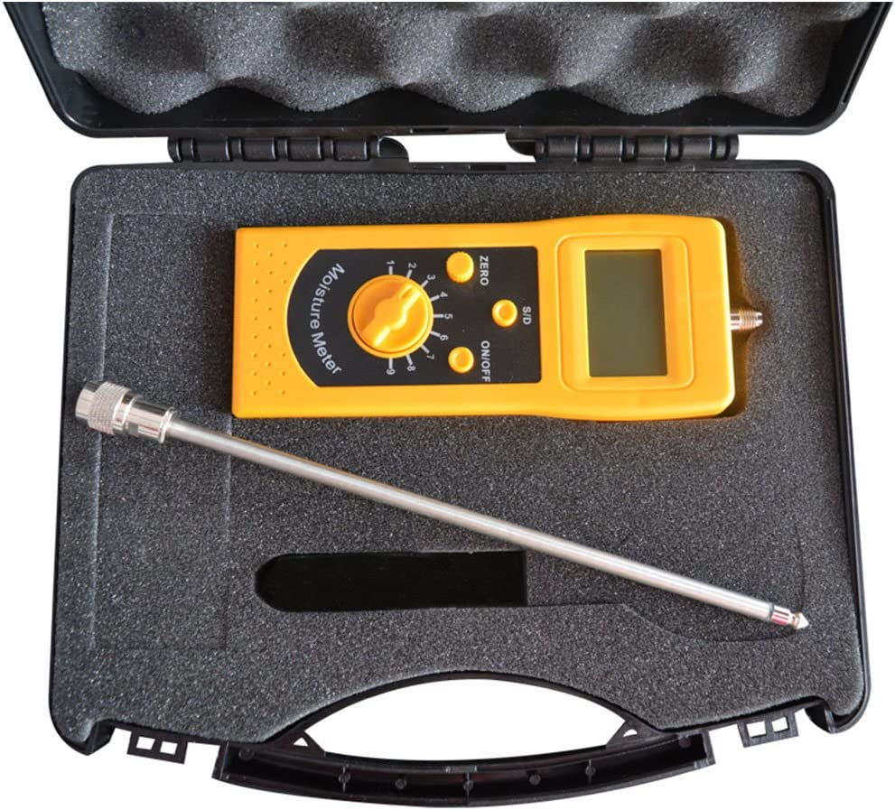 CNYST Sand Moisture Tester Meter High 4 years warranty River Frequency Silt Save money