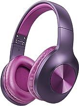 LETSCOM Bluetooth Headphones, 100 Hours Playtime Bluetooth 5.0 Headphones Over Ear with Deep Bass, Hi-Fi Sound and Soft Ea...