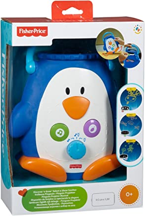 Mattel W9893 Fisher-Price - Pingüino proyector con música y luz