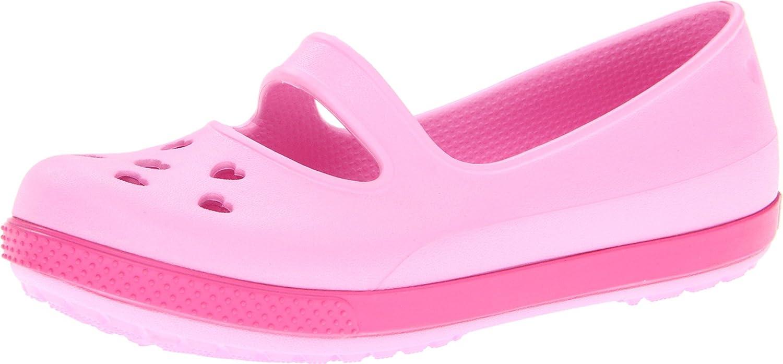 crocs 14828 CB Airy Hearts Sandal (Toddler/Little Kid),Carnation/Fuchsia,12 M US Little Kid