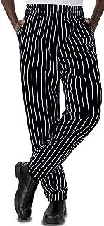 Baggy Chalk Stripe Chef Pants