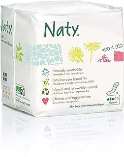 Naty - Compresas ecológicas nature, normal (15 compresas)