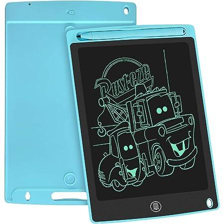 WOBEECO Tavoletta Grafica LCD Scrittura, 8.5 Pollici Lavagna da Disegno Digitale con Pulsante di Cancellazione e Blocco, Educazione e Apprendimento Giocattoli, Regali per Bambini (Blu)