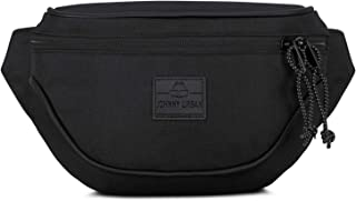 Bum Bag Fanny Pack Women & Men Black JOHNNY URBAN
